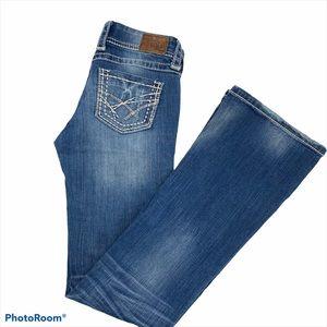 BKE Blue Jeans Women's Size 26 Bootcut Inseam 34